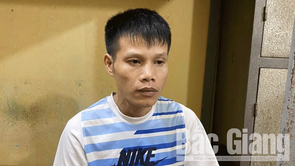 Lê Văn Hoàng tại cơ quan điều tra.