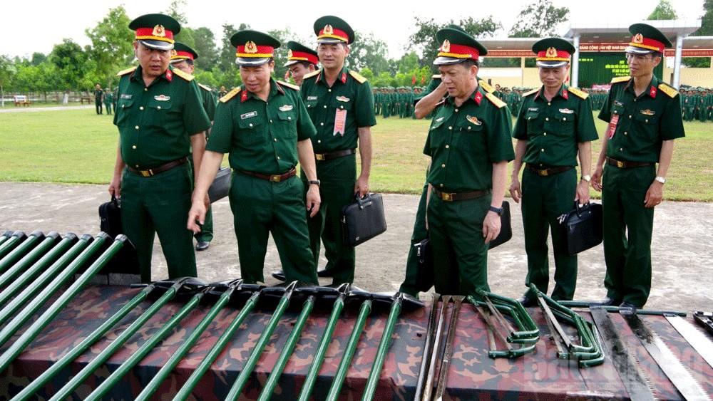 Trung đoàn 101, Sư đoàn 325, Quân đoàn 2, mít tinh, tuần lễ Quốc gia phòng, chống thiên tai