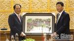 PPC Secretary Bui Van Hai receives RoK's ambassador Park Noh-wan