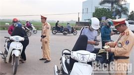 Tổng kiểm soát phương tiện giao thông đường bộ: Lập lại trật tự ATGT sau giãn cách phòng dịch