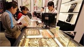 Vàng trong nước sáng 22/5 giảm xuống dưới mốc 49 triệu đồng/lượng