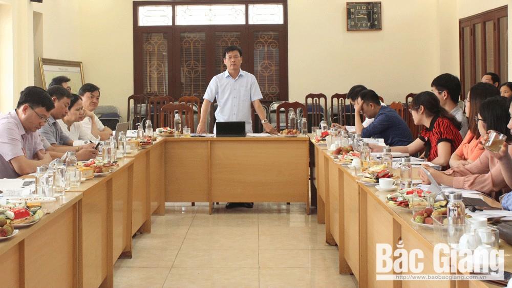 Góp ý, dự thảo, môi trường, giai đoạn 2016-2020, Bắc Giang