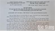 Bắc Giang: Vi phạm quy định phòng dịch Covid-19, cơ sở karaoke Ben Club bị thu hồi giấy phép