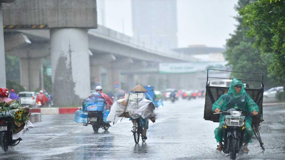 Thời tiết ngày 23/5, mưa lớn, diện rộng, Bắc Bộ, Bắc Trung Bộ, rãnh áp thấp, mưa vừa, mưa to, dông mạnh