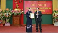 Trưởng ban Dân nguyện Quốc hội Nguyễn Thanh Hải giữ chức Bí thư Tỉnh ủy Thái Nguyên