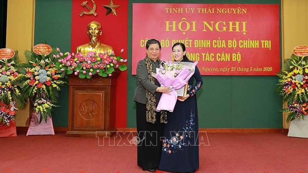 Trưởng ban Dân nguyện, Quốc hội, Nguyễn Thanh Hải, Bí thư Tỉnh ủy Thái Nguyên, Ban Chấp hành Đảng bộ