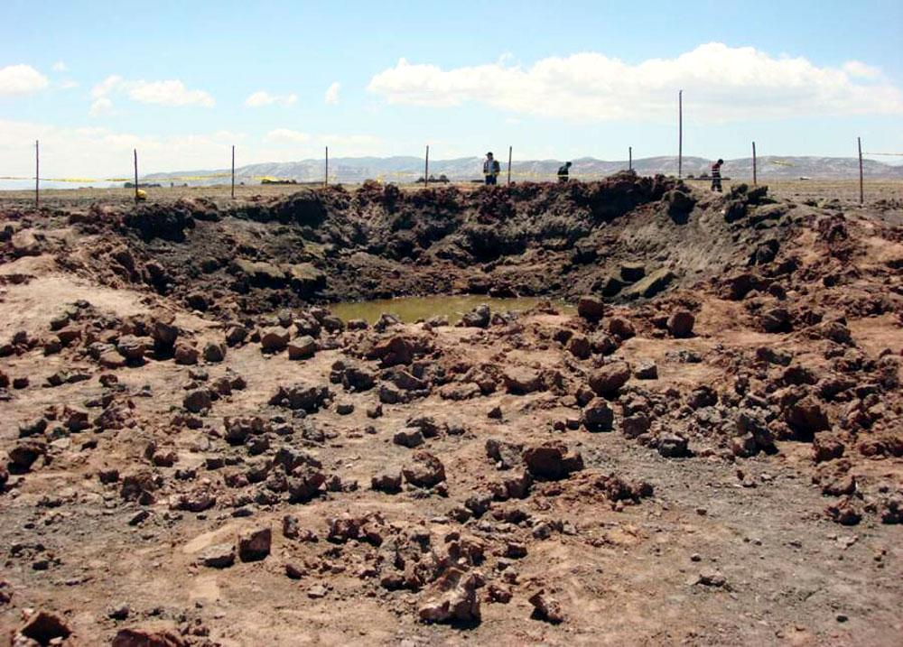 Thiên thạch, thiên thạch Carancas, Peru, thiên thạch va vào trái đất