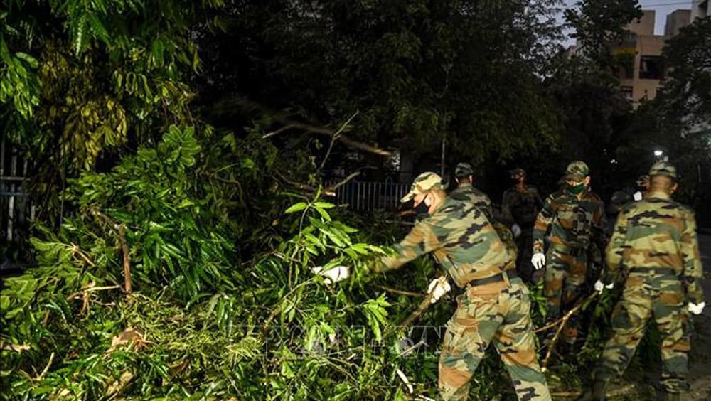 Huy động quân đội Ấn Độ, siêu bão Amphan Kolkata, khắc phục thiệt hại