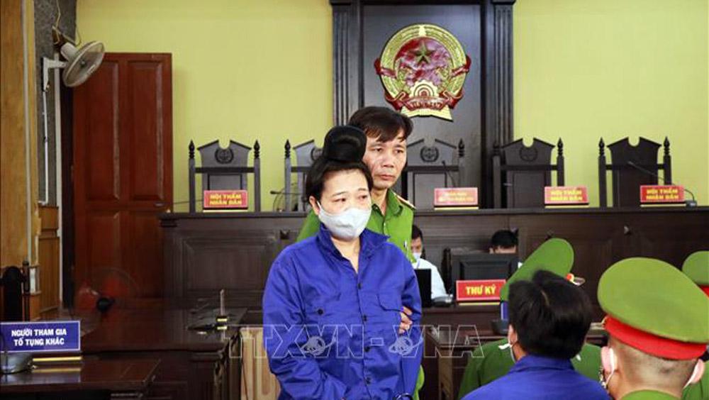 Gian lận điểm thi Sơn La, xét xử sơ thẩm kỳ thi trung học Phổ thông quốc gia, mức án cao nhất bị cáo