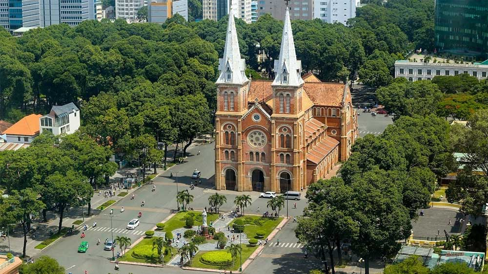 HCMC Notre Dame Cathedral among world's most beautiful: US news site