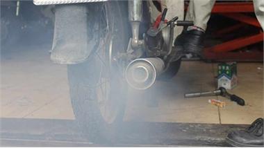 Xe máy sắp phải kiểm tra khí thải định kỳ như ô tô