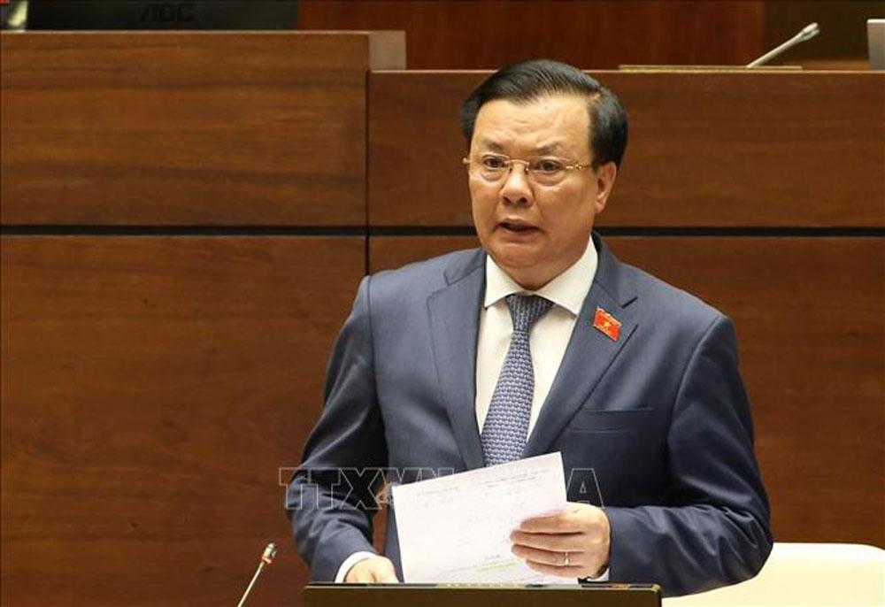 Kỳ họp thứ 9, Quốc hội khóa XIV, miễn thuế đất nông nghiệp, đất nông nghiệp, Bộ trưởng, Bộ Tài chính, Đinh Tiến Dũng