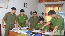 Thành lập chi bộ công an xã, thị trấn tại Bắc Giang: Sâu sát, hiệu quả hơn trong bảo đảm an ninh trật tự