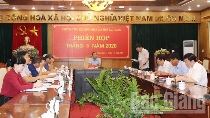 Kỳ họp thứ 10, HĐND tỉnh Bắc Giang khóa XVIII dự kiến diễn ra từ ngày 8 đến 10/7/2020