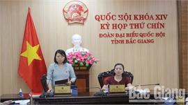 ĐBQH Bắc Giang  đề xuất giải pháp phòng, chống xâm hại trẻ em trên môi trường mạng