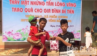 Yen The widely spreads charity work