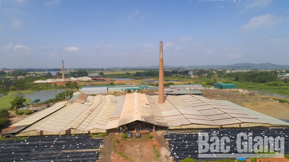TP Bắc Giang: Hai lò vòng vẫn ngang nhiên sản xuất gạch