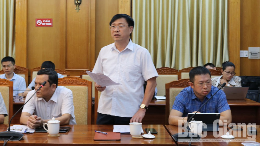 Chủ tịch UBND tỉnh, Dương Văn Thái, Quyết liệt, tháo gỡ khó khăn, thực hiện tốt nhiệm vụ kép, Bắc Giang