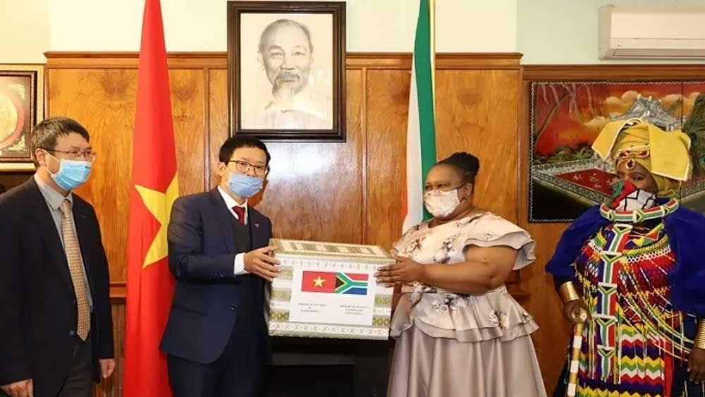 Vietnam, South Africa, Covid-19 pandemic, food and protective equipment, Eastern Cape province,  bilateral diplomatic ties, SARS-CoV-2