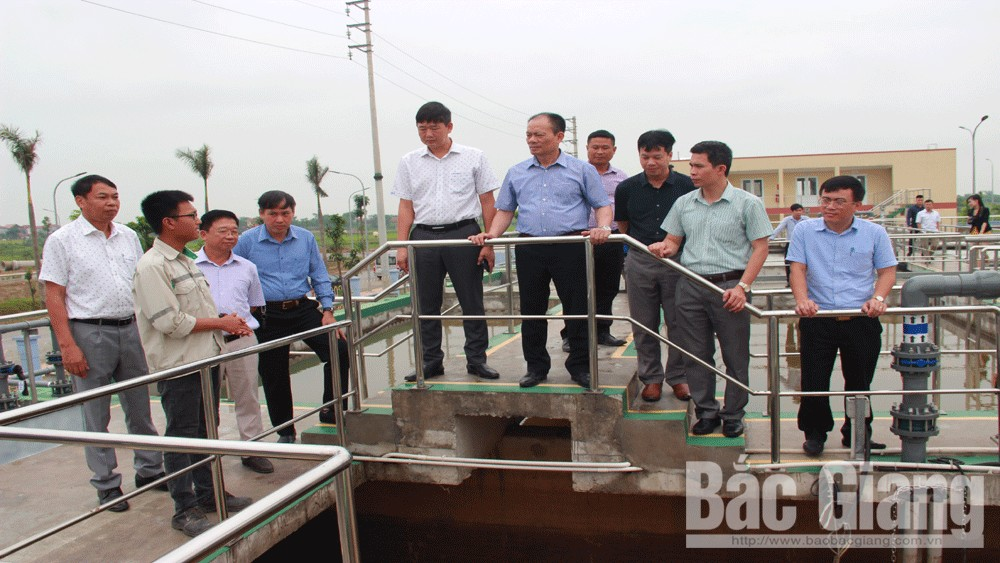 Bac Giang province, plane difficulties, Hoa Phu industrial park, construction progress, land clearance compensation, technical infrastructure construction, sub-investors, investment attraction