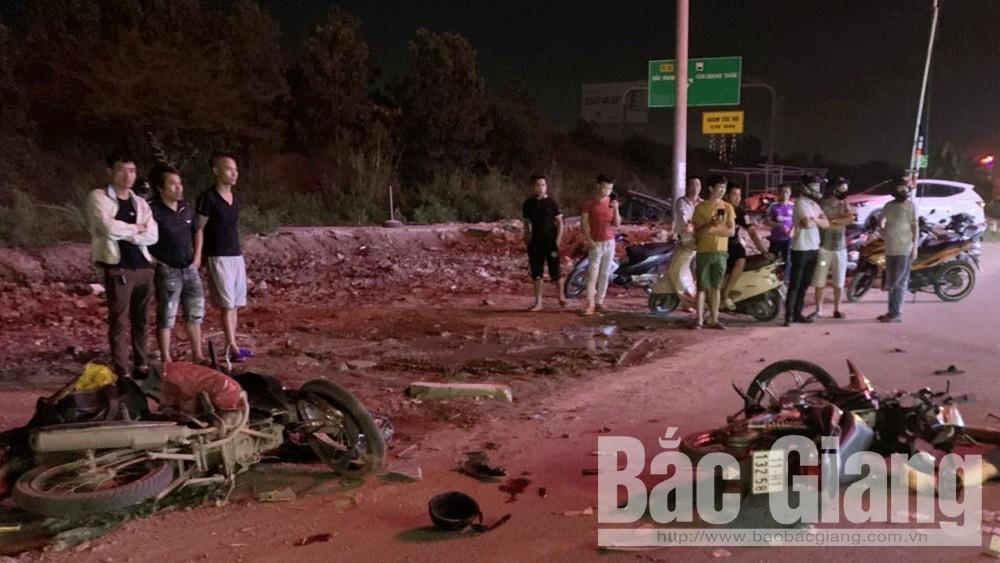 Bắc Giang: Tai nạn giao thông, 3 người thương vong