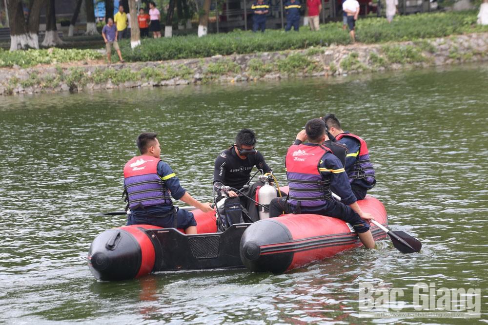 Chuyện nghề, lính 114, cứu nạn, chữa cháy, hiểm nguy, Bắc Giang