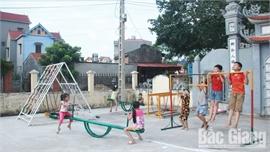 Bắc Giang: Tạo sân chơi cho thiếu nhi