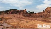 Yêu cầu các huyện, TP chấn chỉnh vi phạm trong khai thác đất san lấp mặt bằng