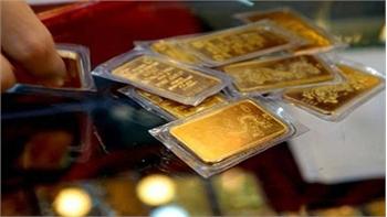 Giá vàng bật tăng sát mốc 49 triệu đồng/lượng