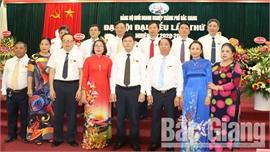 Đại hội Đảng bộ Khối Doanh nghiệp TP Bắc Giang lần thứ III