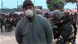 Video phóng viên da màu của CNN bị cảnh sát Mỹ bắt khi đang đưa tin trực tiếp biểu tình