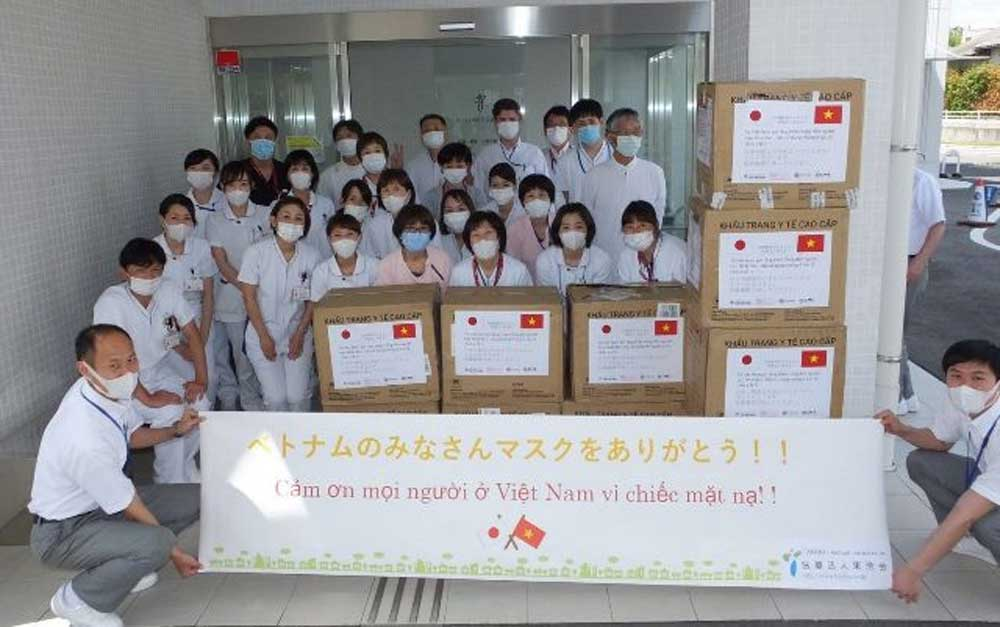 Vietnam, medical masks, hospital and medical school, Japan, antibacterial face masks, prevention and control of Covid-19