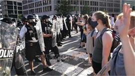Thủ đô Washington của Mỹ ban hành lệnh giới nghiêm do biểu tình