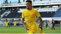Sancho lập hattrick cho Dortmund