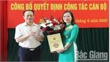 Đồng chí Nguyễn Thị Hường giữ chức Phó Chánh Thanh tra tỉnh Bắc Giang