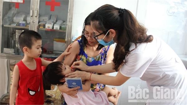 Bắc Giang: Khoảng 195 nghìn trẻ em và phụ nữ sau sinh được bổ sung vitamin A