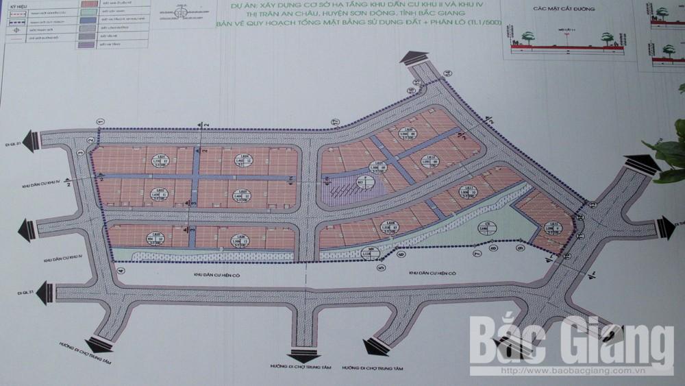 Sơn Động khắc phục sai sót trong xây dựng hạ tầng khu dân cư