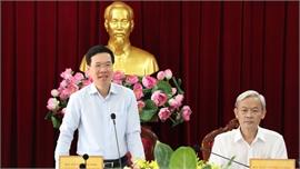 Trưởng Ban Tuyên giáo Trung ương Võ Văn Thưởng: Đồng Nai cần khơi thông điểm nghẽn trong phát triển kinh tế - xã hội