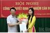 Đồng chí Trương Ngọc Bích giữ chức Phó Giám đốc Sở Tư pháp Bắc Giang