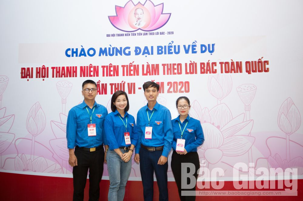 Bac Giang province, national outstanding youths, 6th Congress,  Following Uncle Ho's Teaching,  outstnding youth members, excellent achievements