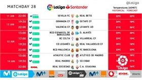 La Liga chính thức công bố lịch đấu, đá liên tục từ 11 đến 18/6