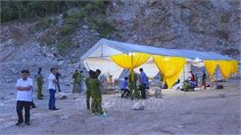 Điện Biên: Tai nạn lao động tại mỏ đá, 2 người tử vong, 1 người chưa tìm thấy
