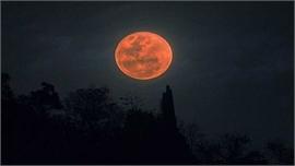 Sắp có nguyệt thực nửa tối, Mặt trăng chuyển sang màu đỏ
