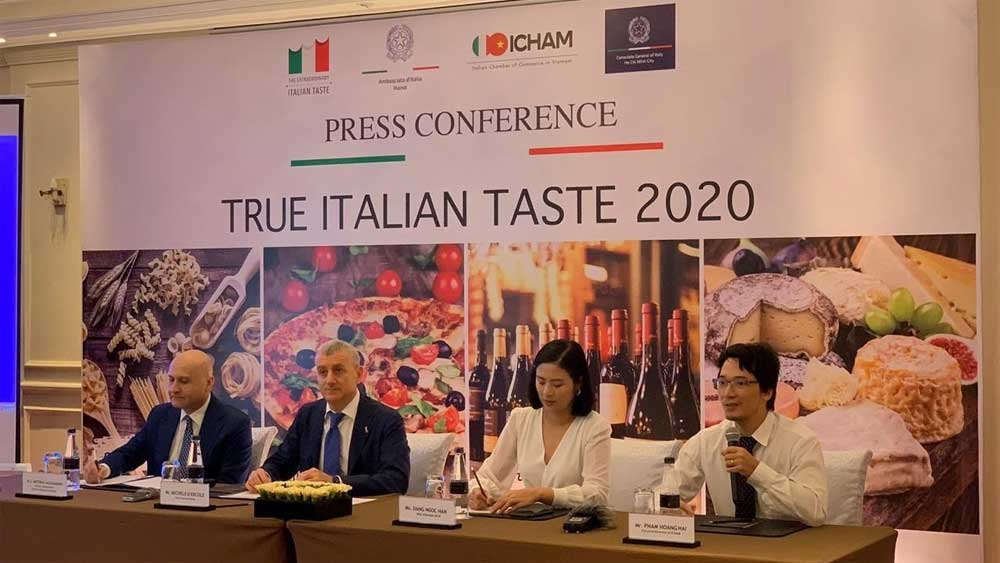 Italian cuisine, Vietnam, True Italian Taste, Pasta Master, Vietnamese people, history of Italy, accurate and detailed knowledge, unique cultural and culinary activities