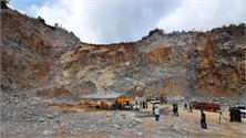 Vụ sập mỏ đá: Cố gắng vô hiệu hóa lượng thuốc nổ còn lại