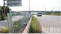 Lắp dựng rào chắn trên cao tốc Hà Nội - Bắc Giang