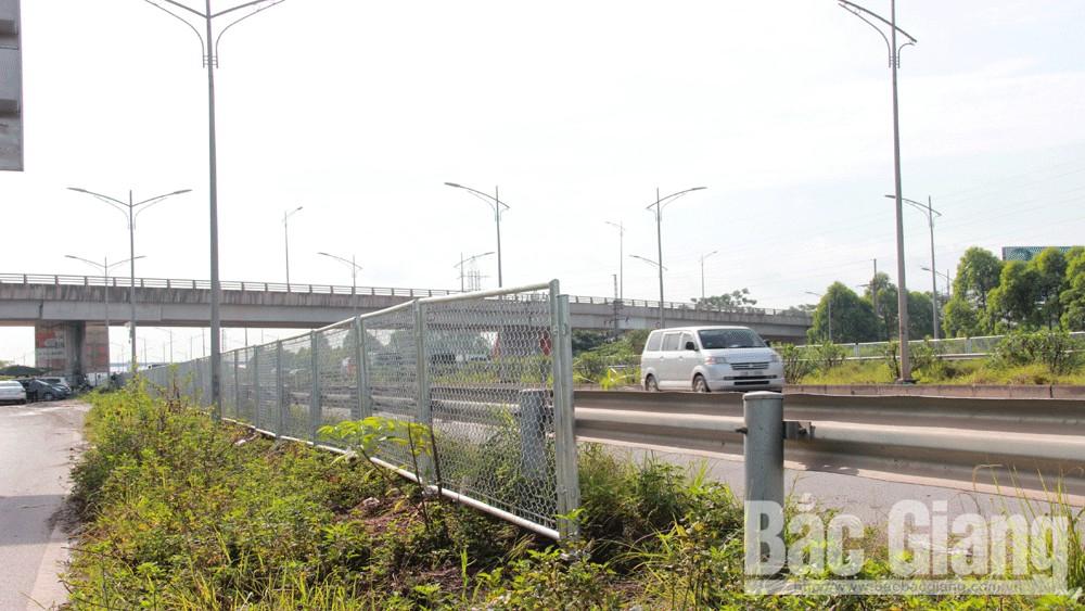 Lắp dựng rào chắn, cao tốc Hà Nội - Bắc Giang, Bảo đảm an toàn giao thông cao tốc Hà Nội - Bắc Giang
