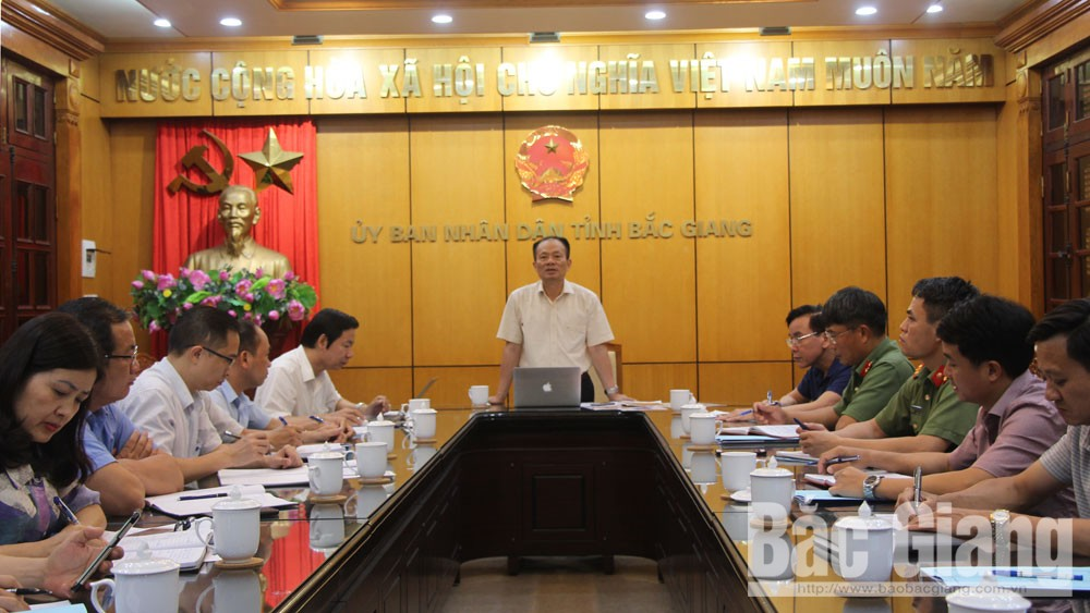 Bac Giang province,  ensures conditions, online conference, lychee consumption promotion, Luc Ngan lychee, early ripen lychees, Covid-19 pandemic, prevention and control