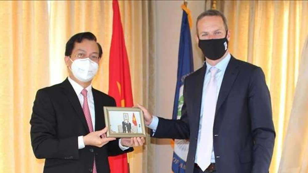 Vietnam, US promote financial cooperation
