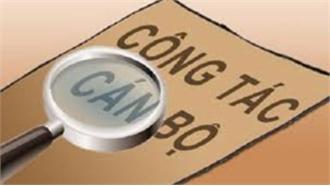 Xem xét kỷ luật nguyên lãnh đạo quận Hồng Bàng và Sở GD&ĐT Hải Phòng